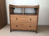 IKEA BABY CHANGING UNIT / CHEST OF DRAWS IN EXCELLENT USED CONDITION FREE LOCAL DELIVERY 07486933766