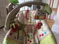 Fisher-Price Comfy Time Bouncer - Woodsy Friends