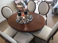 Vintage dinning table & chairs