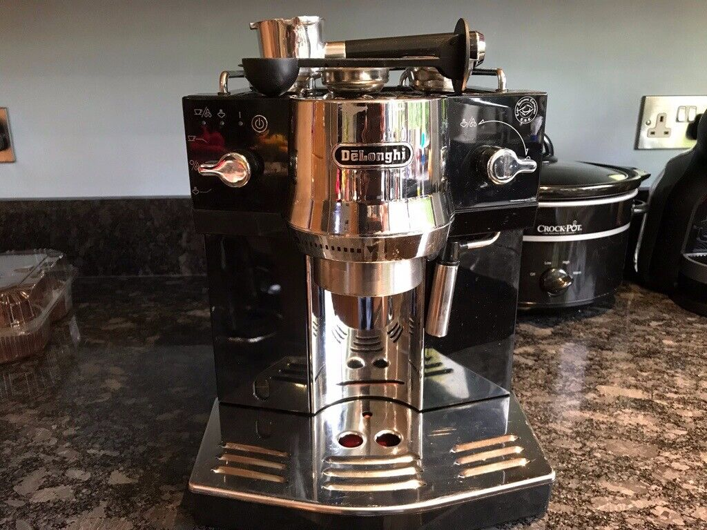 Delonghi Black Ec820 Coffee Machine Now Sold In Basingstoke Hampshire Gumtree