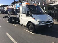 FORD TRANSIT RECOVERY TRUCK LONG WHEEL BASE FOR SALE!!! NEW CLUTCH+FLY WHEEL!!!! NEW BATTERY!!!