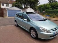 2005 Peugeot 307 SW 1.6 HDi SE 5dr Manual 7-Seater @07445775115