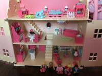 ELC Rosebud Cottage Dolls House