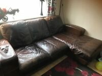 DFS leather Sofa selling due to moving home.