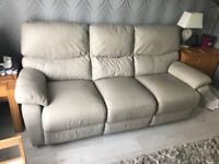 Hervey's leather couch