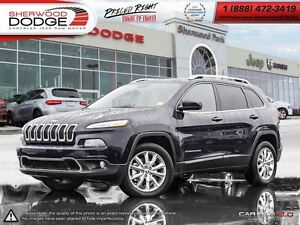 2016 Jeep Cherokee Limited|NAV| ROOF| REMOTE START| LEATHER