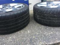 Jaguar XF xfs alloy and tyre 09-12 can't get these any more bargain