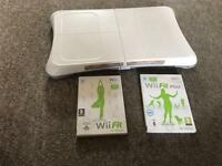 Wii board + Wii fit games for sale.. :)