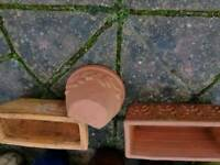 variety plant pots & troughs