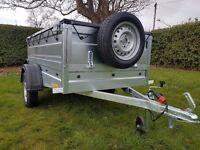 New Trailer cars 6x4 double broadside £650 inc vat