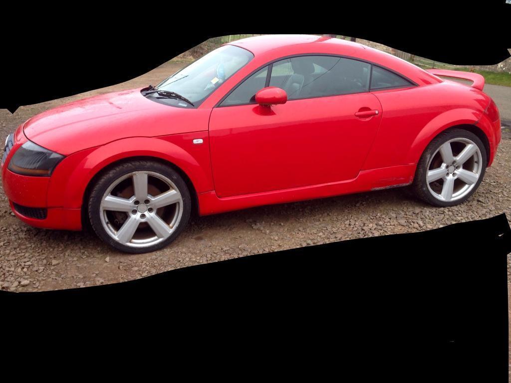 ⭐️⭐️BREAKING⭐️⭐️ Audi TT Quattro Red Forge Supersprint V6 Blitz