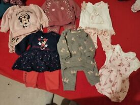 0-3 and 3-6 baby girl clothes