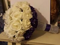 Cheap Wedding flowers chair cover hire and venue decoration