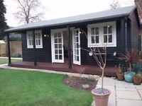 Beautiful OutBuilding to Work From