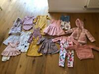 Girls aged 12-18 months clothes bundle