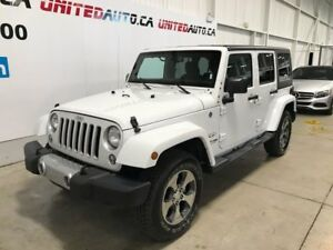 2018 Jeep Wrangler Sahara 498$ tx/mois location 48 mois 0$ compt