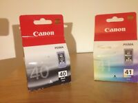 Ink Cartridges Canon Pixma _ PG 40 Black and PG 41 Color