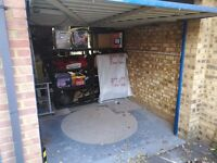 Secure Garage available for storage purposes (10 - 60 Sq Ft available)