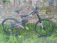 Mongoose Pinn'r Freeride Bike 2009 with Truvativ Hammerschmidt FR