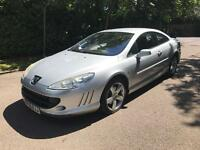 PEUGEOT 407 SE COUPE 2007 3.0 FULLY LOADED 90k YEAR MOT DRIVES LOVELY RED LEATHER BARGAIN YEAR MOT