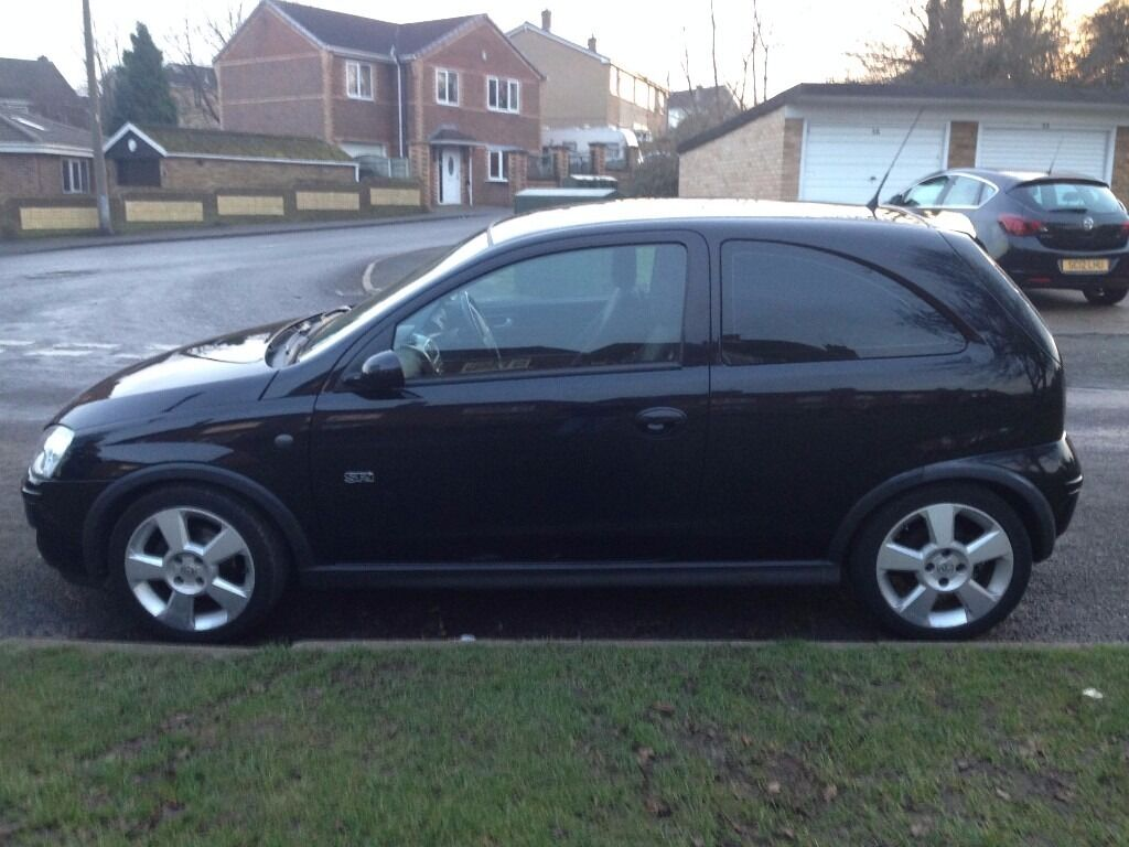 Vauxhall Corsa 1 8 Sri 3 Door In Black In Doncaster