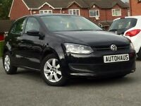 2010 Volkswagen Polo 1.4 SE 5dr JUST SERVICED + 12 MONTHS WARRANTY + MOT not ford fiesta corsa