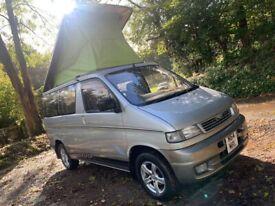 low miles lovely mazda bongo/freda pop top campervan day van