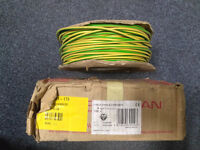 Prysmian 6491X H07V-R Conduit Cable, Green/Yellow 4mm PVC 200m with Conformity Certificate