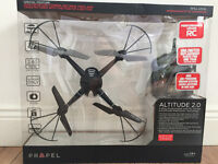 Drone/ Propel RC Altitude 2.0 Quadrocopter w/ HD Camera-brand New