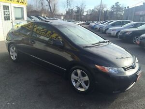 2006 Honda Civic EX / 5SP / PWR ROOF / LOADED / ALLOYS