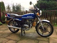 Suzuki GT200 X5 1980 Classic Two Stroke, MOT until 29th January 2018