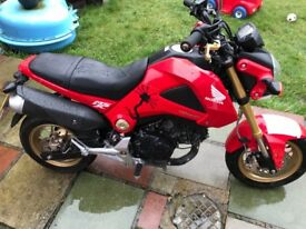Honda msx 125 low mileage