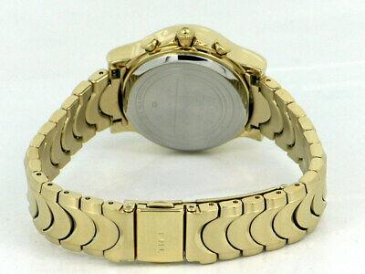 NEW TIMEX 20523 GOLD TONE LADIES WATCH CHRONOGRAPH SWAROVSKI CRYSTALS MOP - $59.99