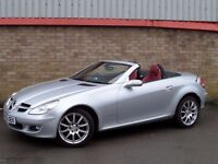 WANTED MERCEDES BENZ SLK 200/280/350 SILVER EXTERIOR RED INTERIOR CASH WAITING