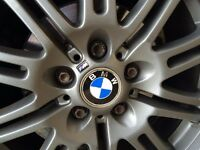 Genuine Bmw M3 alloy wheels with new Tires