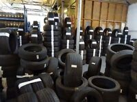 OPN SUN 10am-4pm OVER 3000 PART/WORN TYRES ALL SIZES IN STOCK PUNCTURES £8 TAXIS £5 txt size 077
