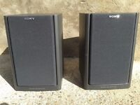 Sony Speakers SS-H1200 for home hi fi stereo 70w