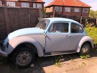 Volkswagen Beetle 1975- unfinished project