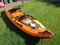 sevylor seablade sit on inflatable 2 person kayak