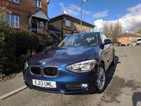 BMW 1 Series 2.0 116d 3 door hatchback 2013, Deep Sea Blue