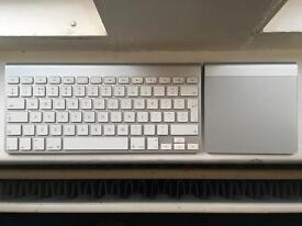 Apple Keyboard and Trackpad