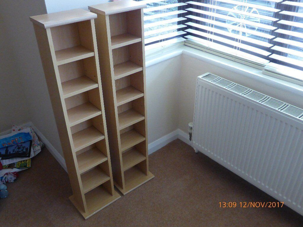 DVD / CD / XBOX / Computer games RACKS price is for the pair