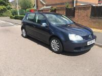 VOLKSWAGEN GOLF 2008 1.9 TDI MATCH IN METALLIC BLUE