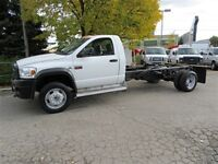 2008 Dodge Ram 5500HD Cab & chassis 2wd diesel