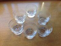 6 x Lario Coppa Glass Sundae Dishes. B23