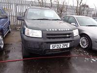 2002 Land Rover Freelander 1.8 MOT'd JANUARY Spares or Repairs £500