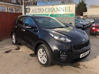 KIA Sportage 1.7 CRDi 2 5dr (ISG)£13,445 p/x welcome NEW SHAPE.6 YEAR FREE WARRANTY