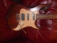 AXL, electric guitar