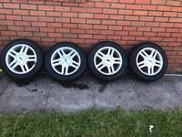 Ford Focus Alloy Wheels With 195/60/15 tyres