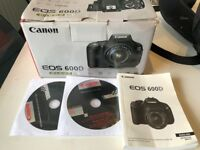 Rarely used Canon EOS 600d Digital Camera